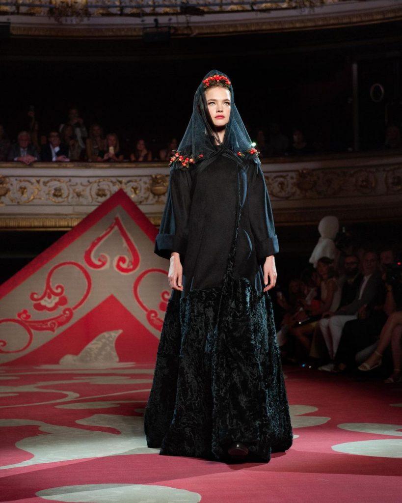 Коллекция Ulyana Sergeenko Fall-Winter 2012/2013 Couture.