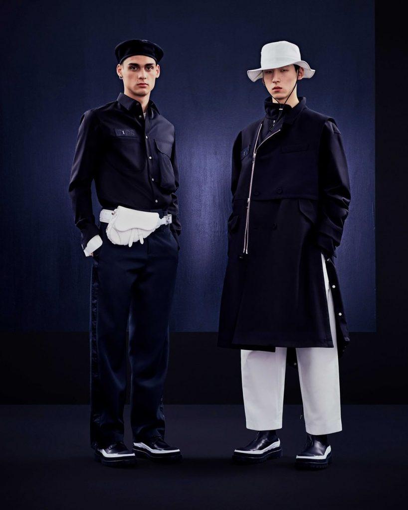 Креативный директор Dior Men Ким Джонс и основательница бренда Sacai Читосе Абе представили капсульную коллекцию «Dior x Sacai»