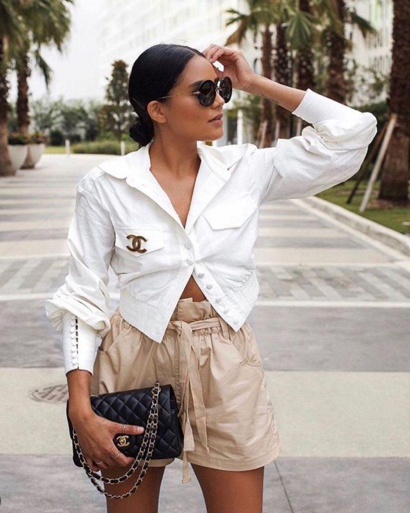 Как с чем сочетать шорты летом, не пренебрегая модными тенденциями.