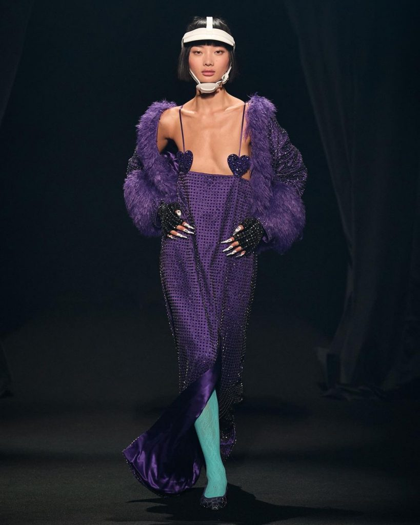 AZ Factory коллекция сезона весна-лето 2022 на Парижской неделе моды